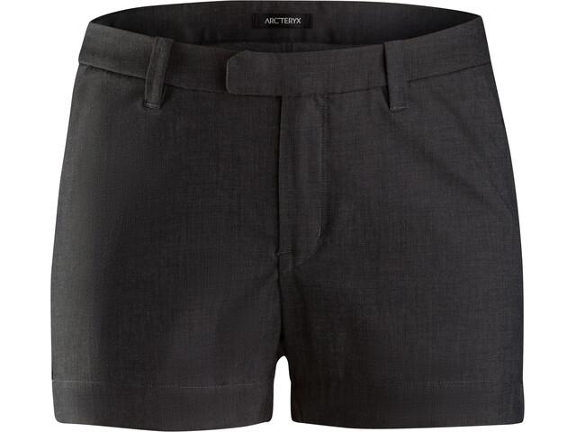 Arc'teryx Devis Short Femme, carbon fibre